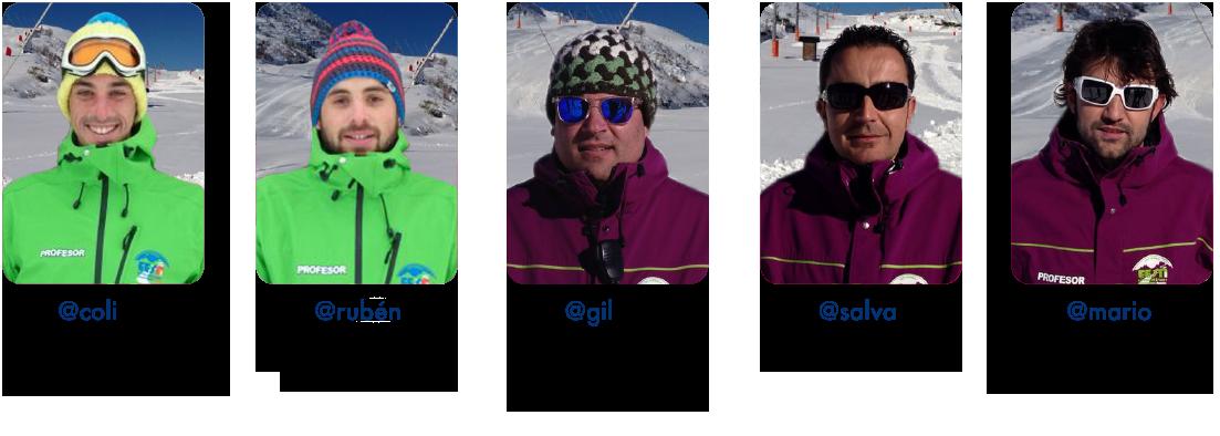 Monitores de esquí y snow EOL Leitariegos