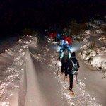 Ruta de raquetas nocturna en Leitariegos
